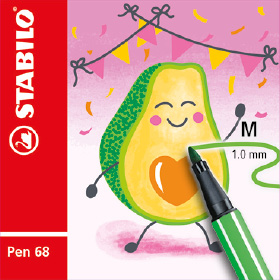 STABILO Pen 68 Living Color Edition